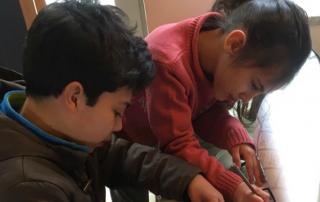 kinderen in Con-cafe